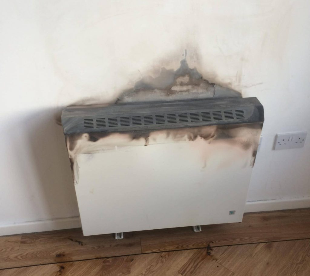 Old Electric Wall Heater